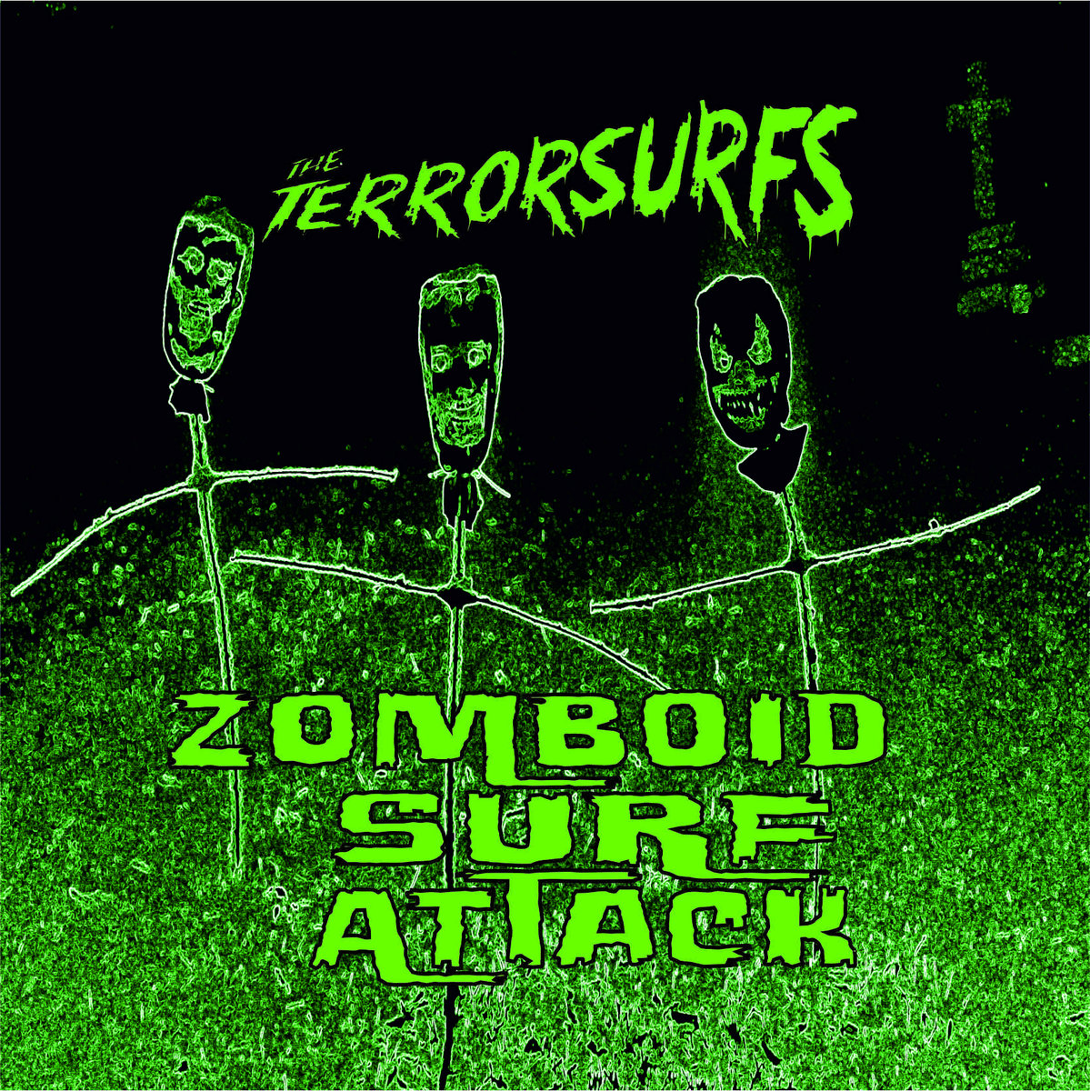 SRW013 The Terrorsurfs - Zomboid Surf Attack Image